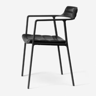 Vipp Armchair 451 wVipp Armchair 451 Black LeatherBlack Leather