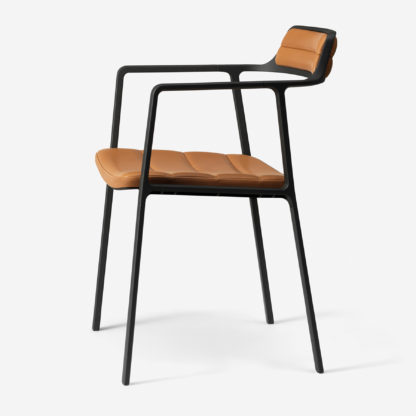 Vipp Armchair 451 Cognac Leather