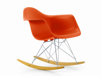 Vitra RAR Eames Plastic Rocking Chair Red