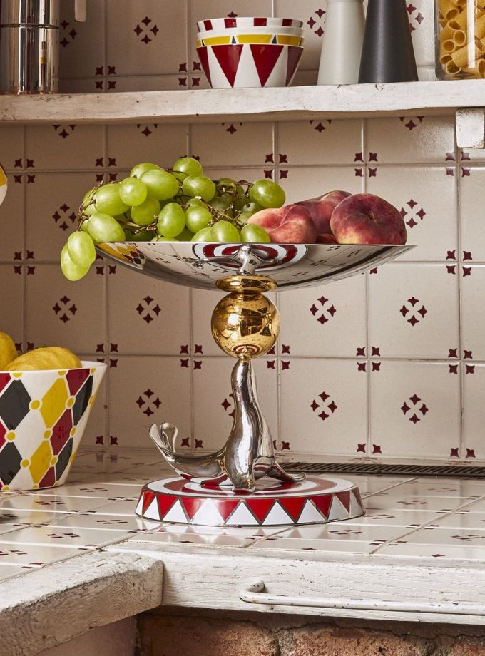 Alessi Cake Stand The Seal by Marcel Wanders