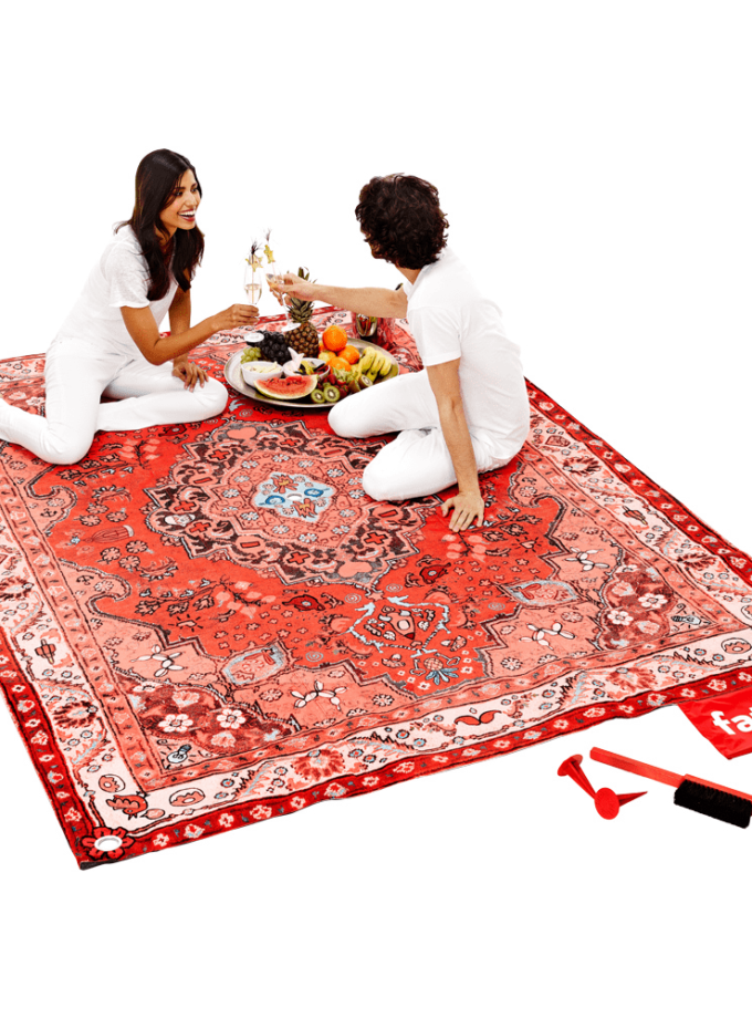 Fatboy Picnic Lounge Blanket w Pegs and Brush