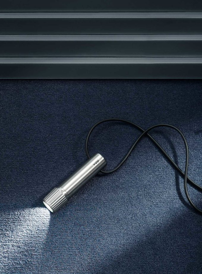 Vipp 561 Stainless Steel Torch