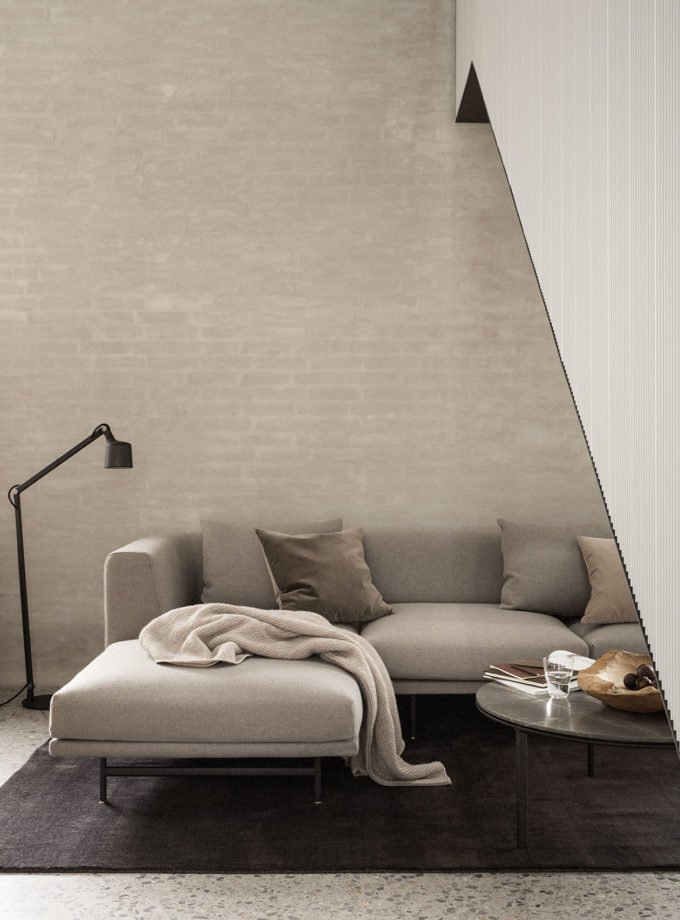 Vipp Chimney Sofa 3 Seater w Chaise Lounge