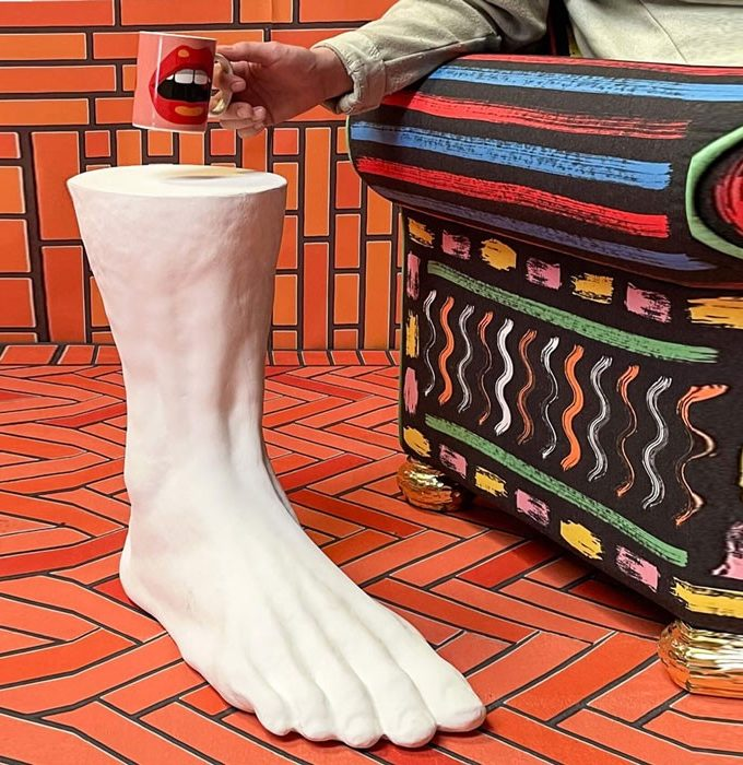 Seletti Colossus Foot Side Table