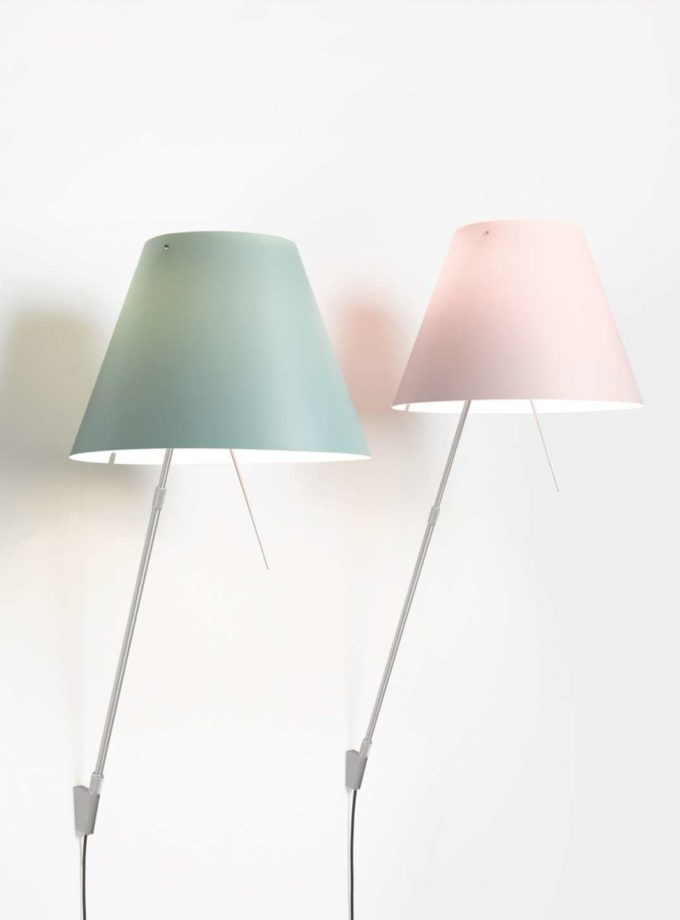 Luceplan Costanza Wall Light Fixed on/off