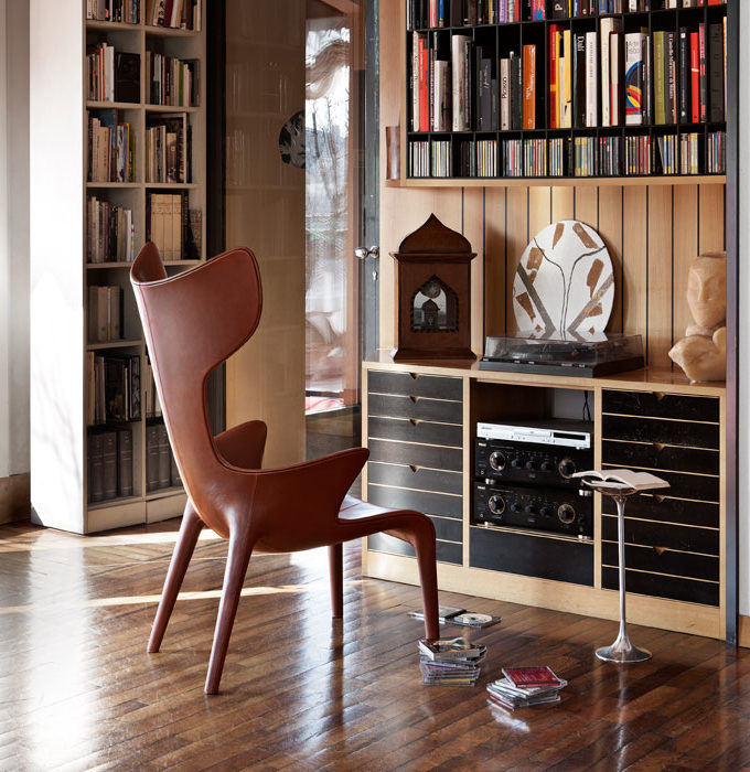 Driade Lou Reed Armchairs Philippe Starck