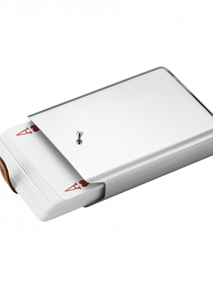 Georg Jensen SKY Playing Cards w Case